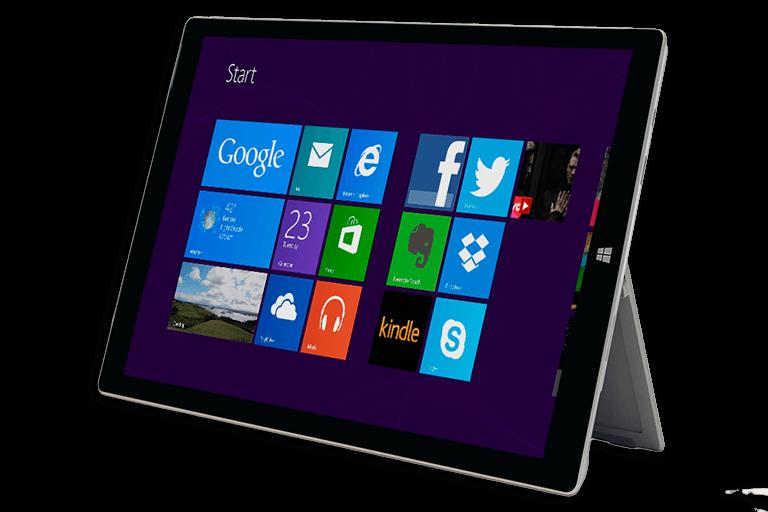 Microsoft Surface Pro 5 mieten